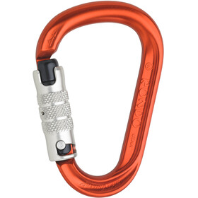 AustriAlpin HMS Rondo 3-Way Autolock Carabiner red anodized